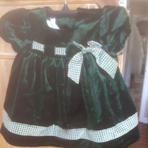 🎒3/$24🎒Bonnie Baby 18 mo velvet dress